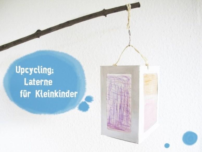 Laterne Kleinkind DIY