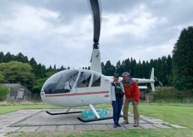 山での素敵な出会い、雨のテント泊は寒い  GW九州百名山旅2019