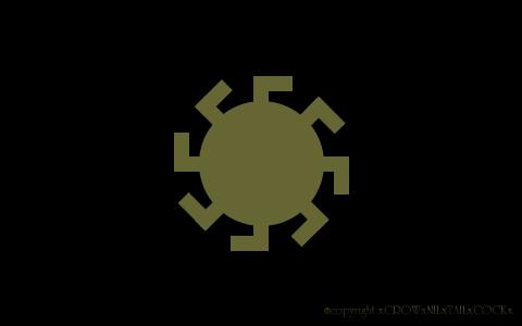 xCROWxNILxTAILxCOCKx シンボル