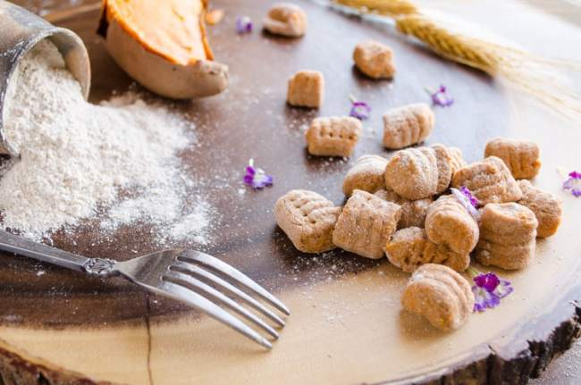 Whole Wheat Sweet Potato Gnocchi • The Goldilocks Kitchen