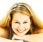 Portrait of a young woman, smiling - iblaib02446307.jpg
