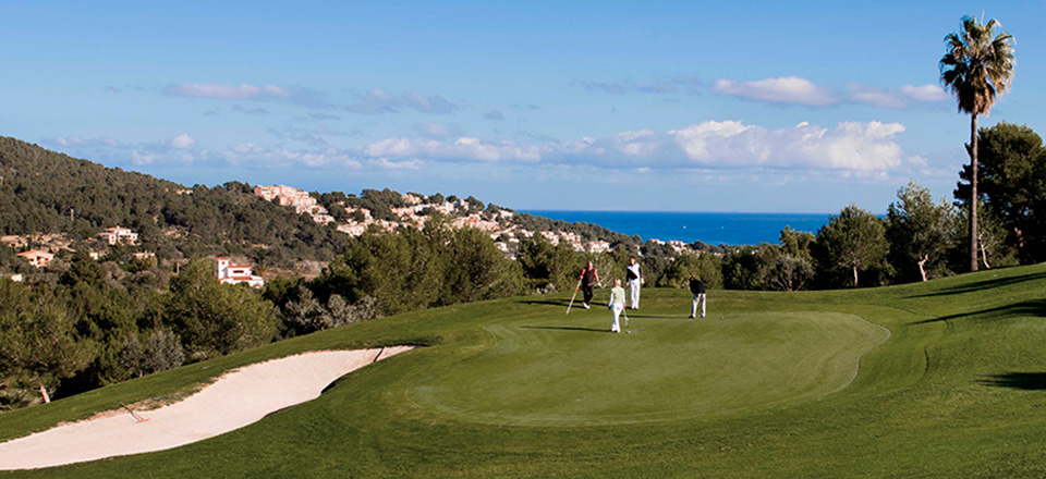 golf canyamel baleares