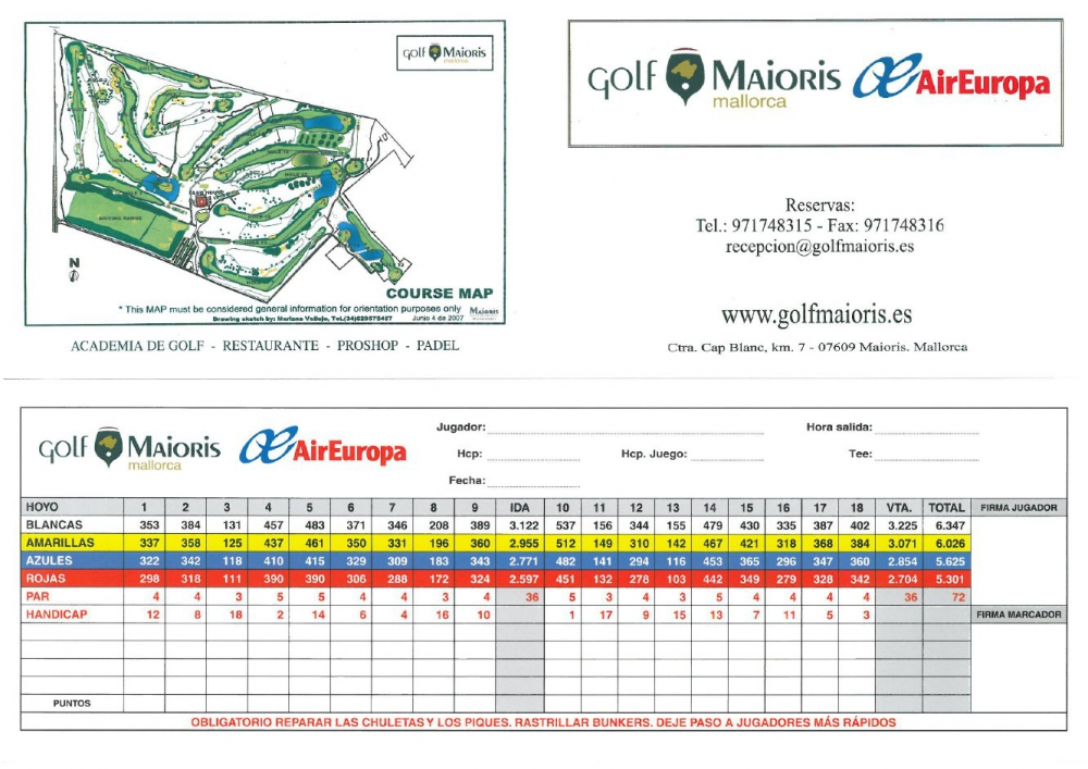 map course mallorca maioris golf