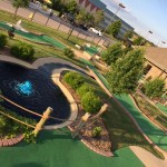 mini golf outdoors