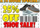 rockbottom 24 hr shoe sale
