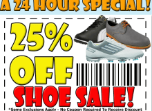 rockbottom 24 hr shoe sale