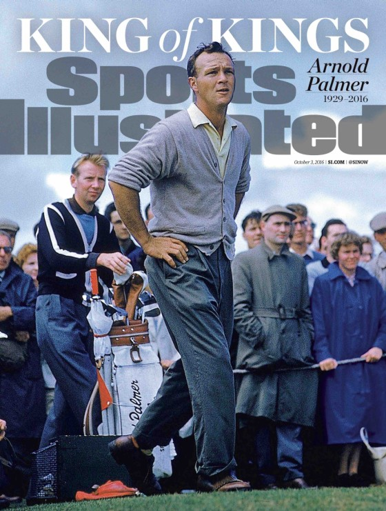 Arnold Palmer Remembered On This Week's SI Cover