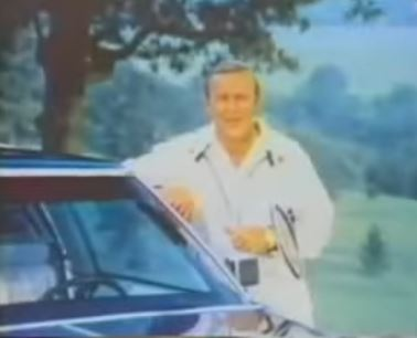 Arnold Palmer Cadillac Commercial 1974