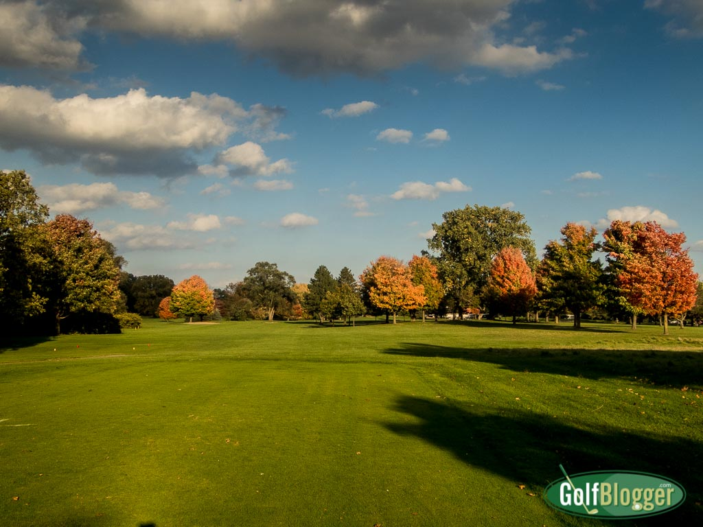 A Warm October Round of Golf