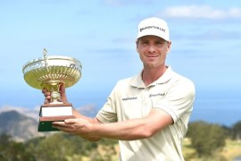 Roope Kakko shot a brilliant 63 in the final round to win the Madeira Islands Open