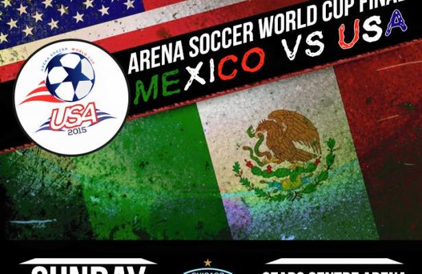 World Cup 2015 Finals: USA vs Mexico Mar 29th 5:00pm CST