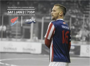 Milwaukee Wave at Missouri Comets Jan 2nd 7:05pm watch live video