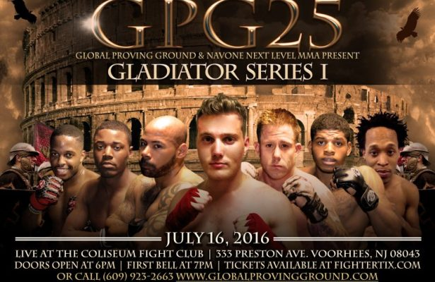Global Proving Ground 25: A Night of MMA Fights July16th, 2016 LIVE 7pm ET watch live MMA action on Go Live Sports Cast
