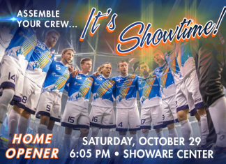 Tacoma Stars Home Opener hosting Sonora de Soles Oct. 29th 7:05pm watch live video
