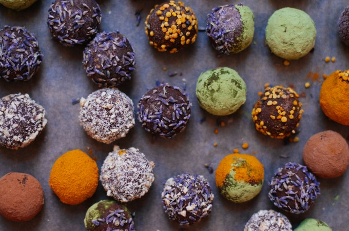 Cosmic Sweet Potato Truffles | Golubka Kitchen
