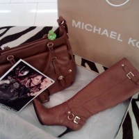 Lucky Duck buys Michael Kors boots to replace the DVF ones that went back