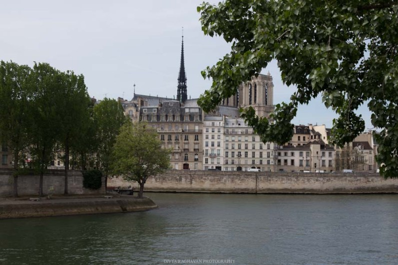 The Seine, Paris, France || Paris in two days, a complete guide and itinerary to the city of lights in France.
