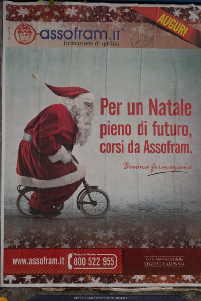 Christmas decorations, Naples, Italy-2