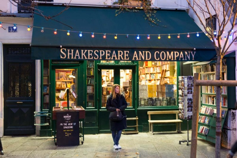 Shakespear & company, Left Bank, Paris, France || Paris in two days, a complete guide and itinerary to the city of lights in France.
