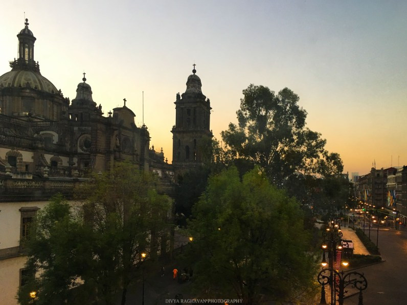 Postcards from Mexico City at Christmas