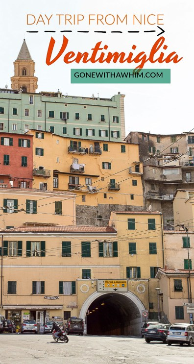 A day trip to the medieval town of Ventimiglia, Italy from Nice, France