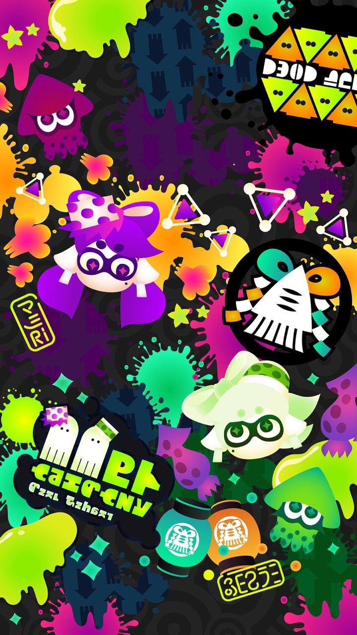 Nintendo LINE - new Splatoon, calendar mobile wallpapers | GoNintendo