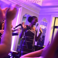 Nayo Jones performs at The Carousel Bar & Lounge inside Hotel Monteleone with her band, The Nayo Jones Experience. (Photo: Katie Sikora)