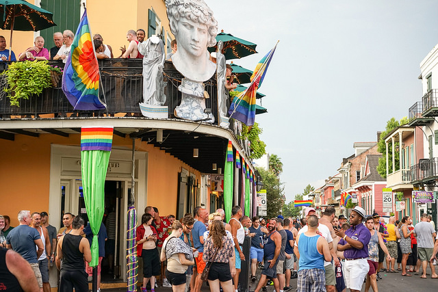 Southern Decadence at Lafitte's. Photo by Paul Broussard.