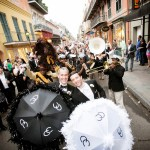 Wedding second line. (Photo courtesy Arte De Vie)
