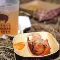 Chef creations at Boudin, Bourbon & Beer (Photo: Paul Broussard)