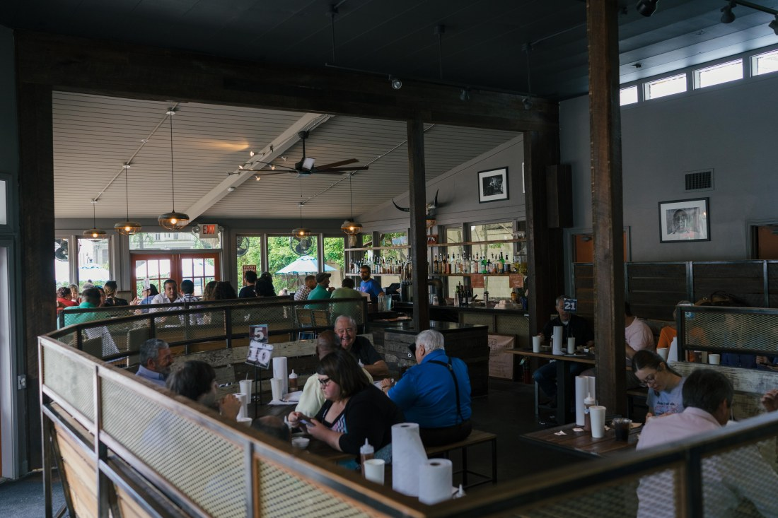 Blue Oak has recently moved into its own space, after several years inside of the Mid-City music club Chickie Wah-Wah.
