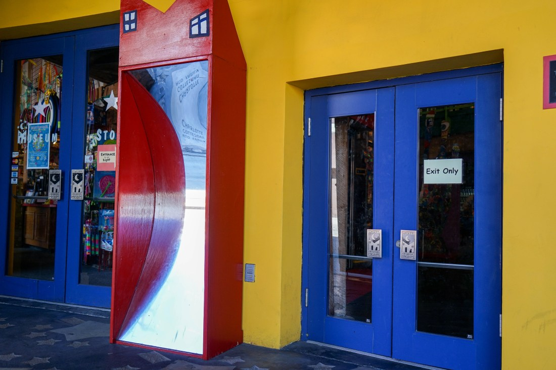 The entrance to the Louisiana Children's Museum on Julia Street has fun-house mirrors, and an exit built especially for the little ones. Inside is a wonderland of activities and hands-on exhibits for kids. When I was a kid, this was one of my most cherished and favorite places to visit.