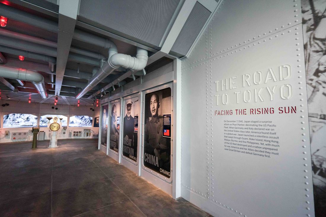 Explore the fascinating history of the Pacific theaters of World War II at the new Road to Tokyo galleries at the National WWII Museum in downtown New Orleans