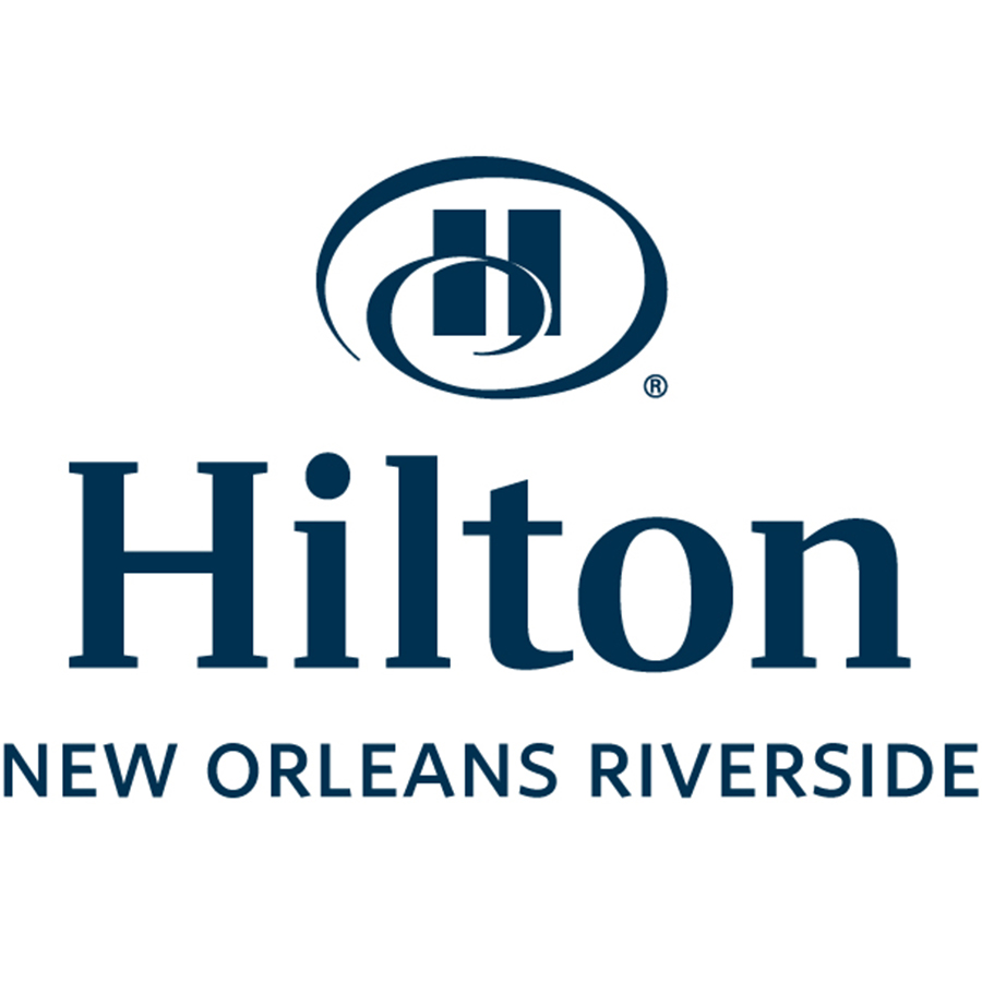 hilton new orleans riverside logo