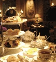 Tea at the Windsor Court Hotel