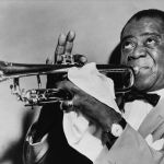Louis Armstrong in 1953. (Photo courtesy Library of Congress)