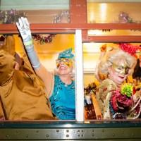 The Phunny Phorty Phellows parade. (Photo: Rebecca Ratliff)