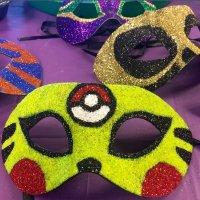 pokemon go mardi gras mask