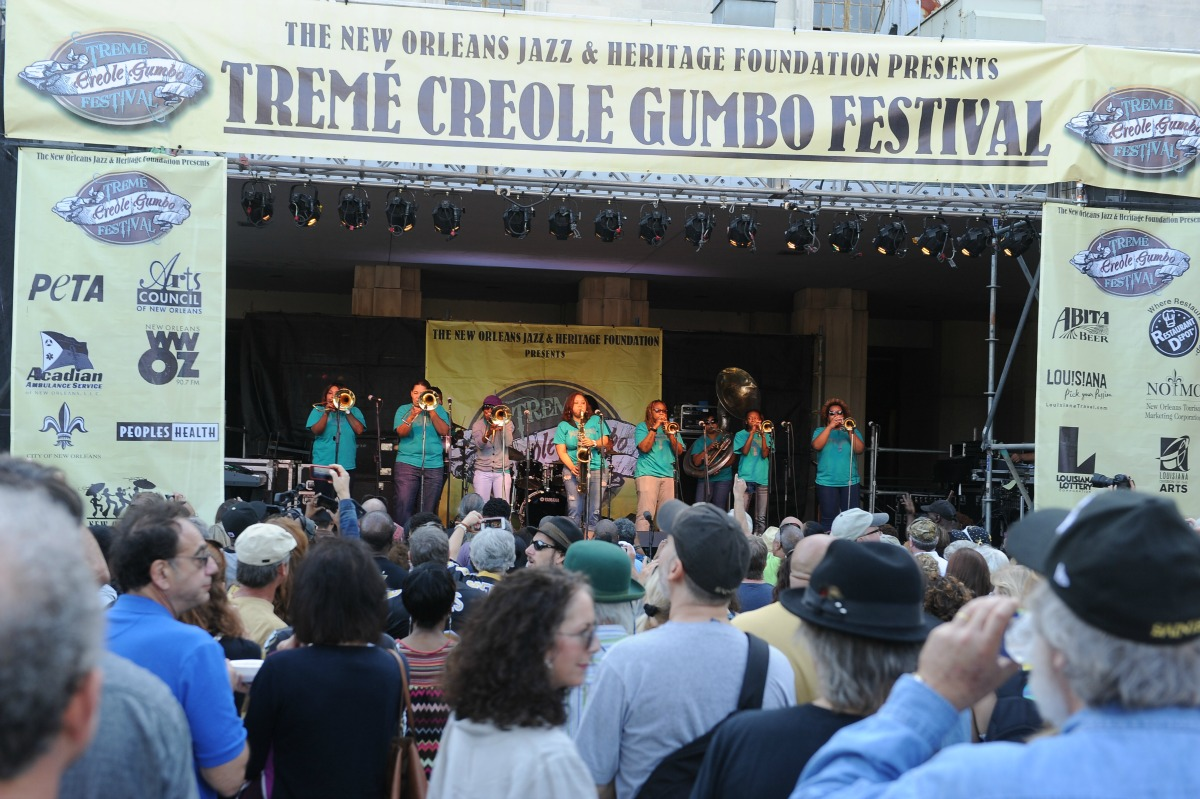 Treme Creole Gumbo Festival happens this weekend. (Photo: Cheryl Gerber)