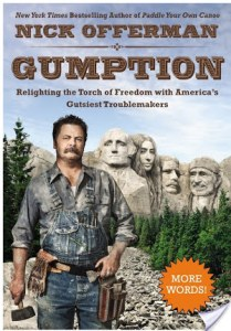 Gumption by Nick Offerman   Audiobook Review