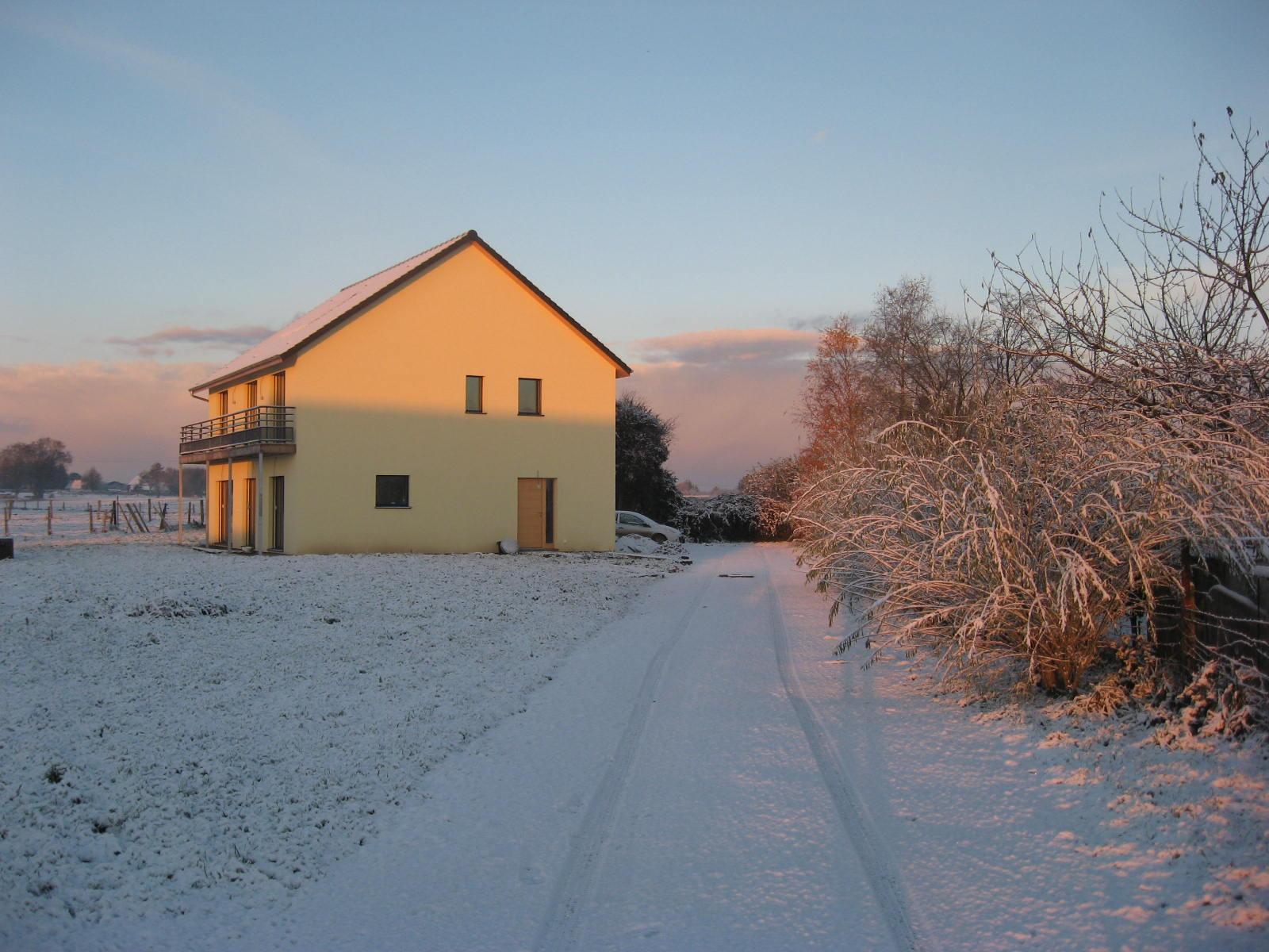 Consommation maison passive hiver 2015 40 sous le bbc - Combien consomme une maison en kwh ...