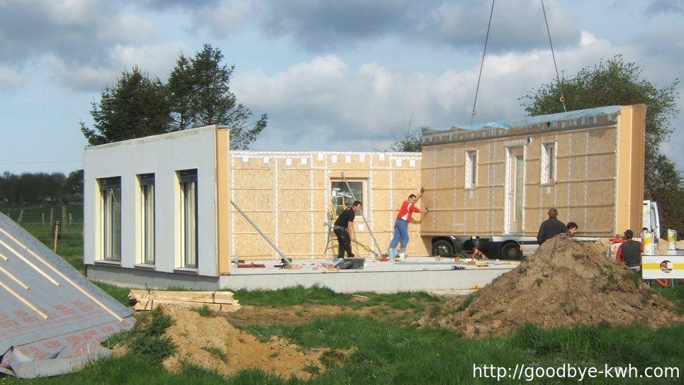 Histoire de notre maison passive trouver un constructeur for Combien consomme une maison en kwh