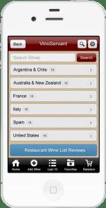 VinoServant App