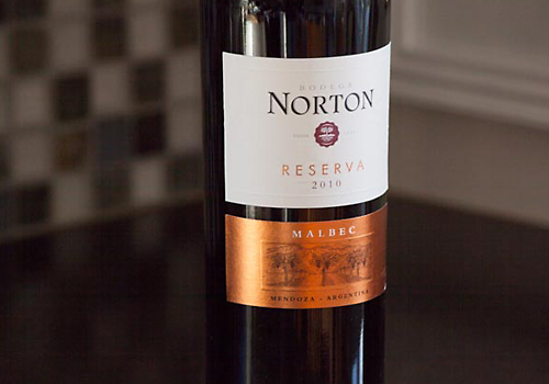 image of Norton Reserva Malbec