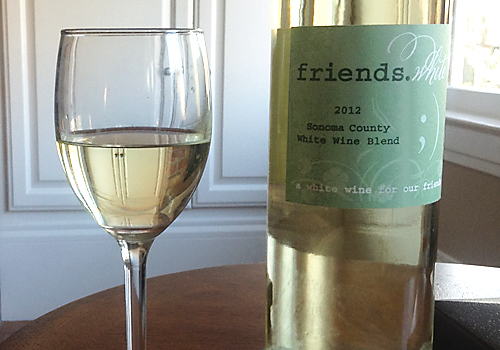 image of Friends white wine