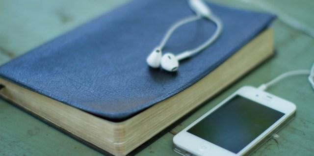 Bible and iPhone - Lightstock