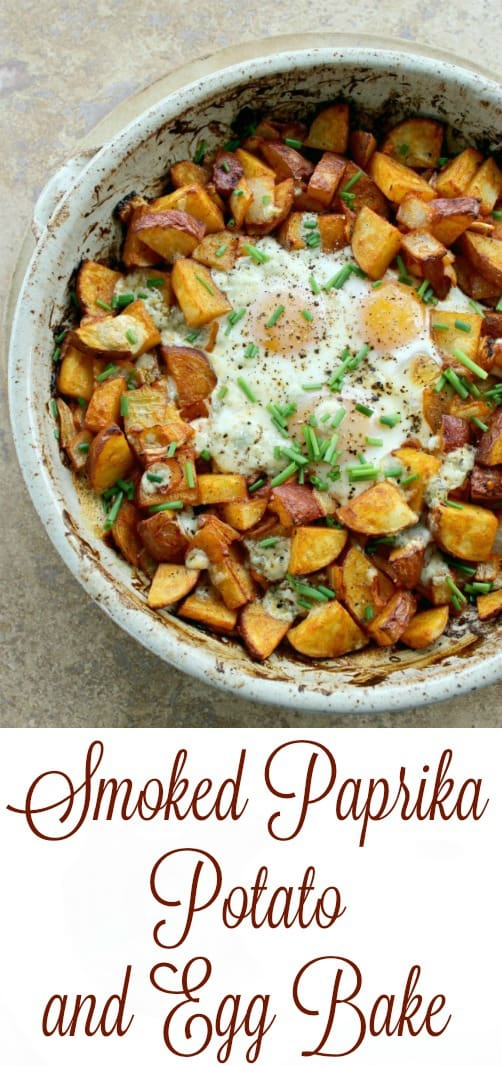 For breakfast or even for dinner, this Smoked Paprika Potato and Egg Bake is ready in 30 minutes and is delicious and satisfying.