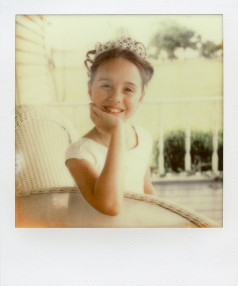 "- ""Hannah Rae"" aka the Flower Girl - SX-70 - Impossible Project PX-70 COOL"