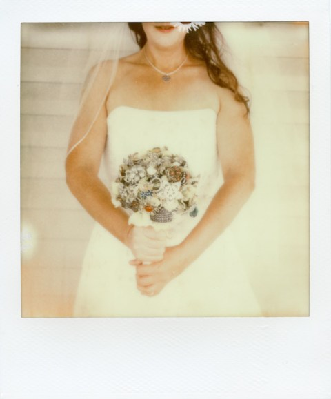 - The Bride - SX-70 - Impossible Project PX-70 COOL -