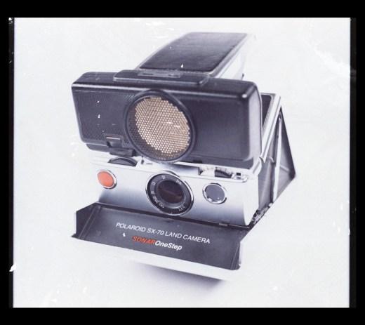 Sonar SX-70 - Bleached FP-100C Negative Scan